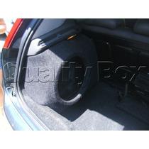 Caixa De Fibra Lateral Alongada Fiat Punto (até 2014)