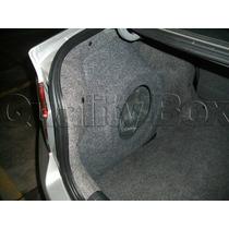 Caixa De Fibra Lateral Reforçada Honda City (até 2014)