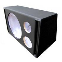 Caixa Som Dutada Trio 15 - 80 Litros -duto Retangular