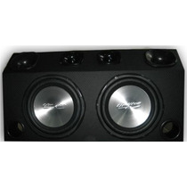 Caixa Som Trio 1000 Watts 2 Sub + 2 Corneta +2 Super Tweeter