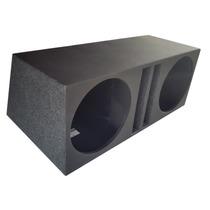 Caixa De Som P/ 2 X 12 Duto Regua 92 Litro Mdf 18 Pelego Box