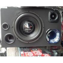 Caixa Som Trio Sub Bicho Papão 550rms + Tweeter + Driver Jbl