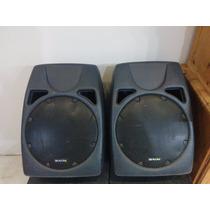 Caixa Acústica Profissional Bravox 250w Rms - Par