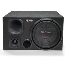Subwoofer Pioneer 400w + D200 + Tweeter + Caixa De Som Trio