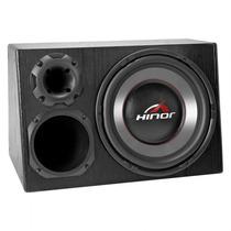Caixa Amplificada Hinor Box 400w Trio 1000 Preta Automotiva