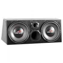 Caixa Amplificada Hinor Box 500w Trio 1500 Preta Automotiva