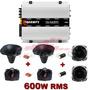 Módulo Amplificador Taramps Ts-400 + Kit Corneteira 600w Rms