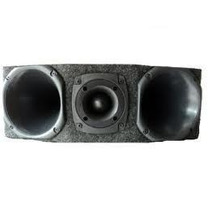 Caixa Box Trio Montado 2driver 1super Tweeter P/som Automoti
