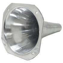 2 Cones Longos De Alumínio Encaixe De Rosca E Boca Quadrada
