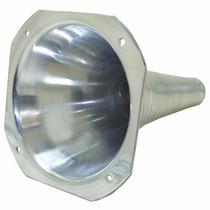 Kit 4 Corneta Cone Longo Alumínio De Rosca Boca Quadrada