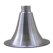 Cone Corneta Jarrão Curto Alumínio Polido P/ Driver * Rosca