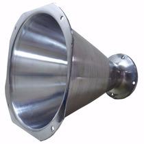 Corneta Jarrão Parafuso - Alumínio Polido C/ Boca Quadrada