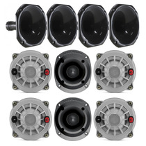 Kit Selenium 4 Driver D250x 4 Corneta 2 Tweeter St-400 Black