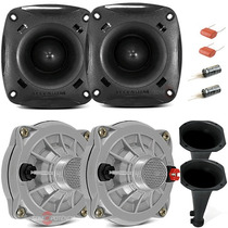 Kit 2 Driver Jbl Selenium D250x + 02 Tweeter St200 Original