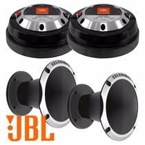 Kit Jbl Selenium 2 Driver D405 Trio + 2 Cornetas Aluminio