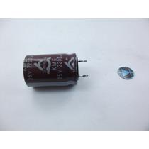 Capacitor Eletrolitico 2200uf X 25v 105gr (pct 10pçs)