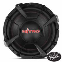 Subwoofer Spyder Nitro 12 700w Rms 4 Ohms Com Nf