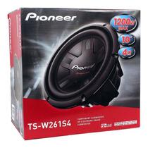 Subwoofer Pioneer Ts-w261s4 10 Pol. 1200w Bobina Simples