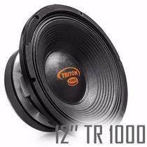 Woofer 12 Alto Falante Triton 1000w Rms Tr1000 8 Ohms Auto