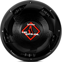 Subwoofer Bomber 12 Upgrade 350w Rms 4 Ohms Simples Falante