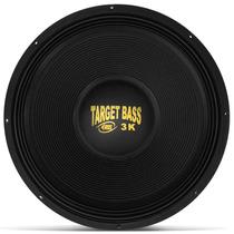 Woofer Eros Target Bass 3.0k 18´´ Polegadas 1500w Rms 4 Ohms