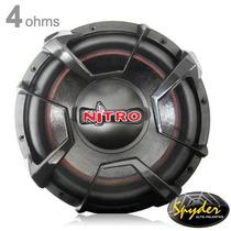 Subwoofer Spyder Nitro G4 Sp12nt700 12 700w Rms 4 Ohms