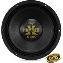 Woofer Eros 12 Polegadas 2600w Rms E-12 Hammer 5.2k Falante