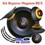 Kit Reparo Alto Falante Magnum Rex 15 - 1500 Rms - Subwoofer
