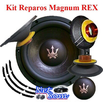 Kit Reparo Falante Magnum Rex 12¨800 Rms Subwoofer