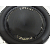 Subwoofer Roadstar 12 Rs-1210pw1 Power One 600rms 4+4ohms