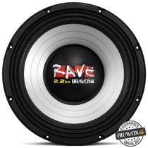 Woofer Bravox Rave Rv12-s4 2.2kw (12 Pols. / 1100w Rms) S/jr