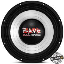 Woofer Bravox Rave Rv12-s4 5.1kw (12 Pols. / 1800w Rms) S/jr