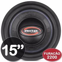 Subwoofer 15 Ultravox Shocker Furacão 2k2 2200w Rms 2+2 Ohms