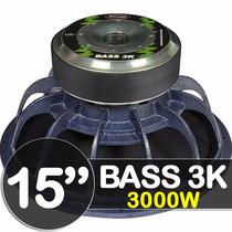 Woofer 15 Linha Shocker Bass 3k 3000 Rms 4 Ohms By Ultravox