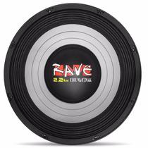 Woofer Bravox Rave 12 Polegadas 1100w Rms Rv12 2.2kw