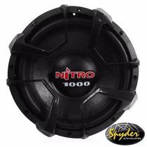Alto Falante Subwoofer Spyder Nitro G4 12 1000w Rms