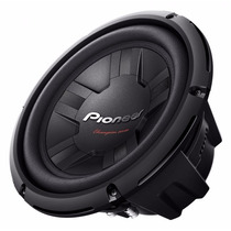 Subwoofer Pioneer Tsw-261 S4 Bobina Simples 350w Rms 4 Ohms