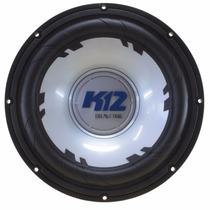 Promoção Alto Falante Sub Woofer Bravox K12 D4 4+4 650w Rms