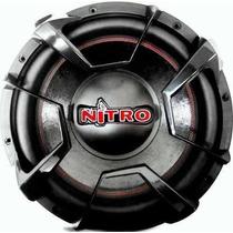 Subwoofer Alto Falante 12 Spyder Nitro 700 Rms B. Dupla