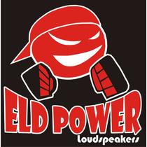 Sub Woofer Eld Power 12 550w Rms-4 Ohms-linha Stell.