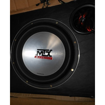 Subwoofer Mtx Thunder 9500 T9512-44 12 Polegadas 1000w Rms