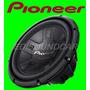 Subwoofer Pioneer 12 Ts-w311 D4 Bobina Dupla 400w Rms - Novo
