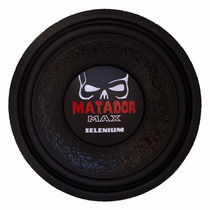 Subwoofer 12 Selenium Matador 12sw10a Dvc 2x4 Ohms