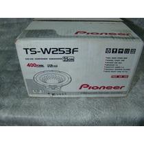 Pioneer - Sub Wooofer - 10 Polegadas - Tsw - 252f