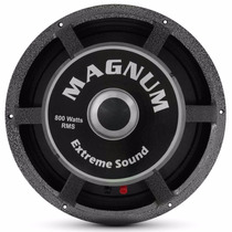 Magnum Auto Falante Woofer Total Air 15 Pol. 800w Rms 4 Ohms