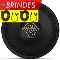 Alto Falante Woofer 12 Spyder Kaos 600 Rms 4 Ohms + Brindes