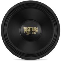Falante Eros 15 1500w Target Bass 3.0k Medio Grave Pancadao