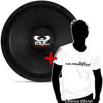 Woofer Ultravox Pancadão 12 400 W Rms C4012+frete+camiseta