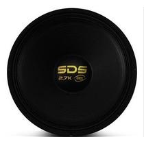 Alto Falante Woofer Eros E15 Sds 2.7k - 15´ 1350w Rms Black