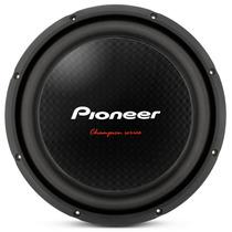 Subwoofer Pioneer 310 D4 12 1400 W Bobina Simples Cara Preta